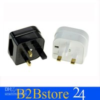 Wholesale Three Pin Plug With Two Pin Input Adaptor Converter Mains Europe Travel Power Adapter CE RoHS Certificated
