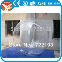 Cheap 1.0mm TPU inflatable water ball(Free shipping and air pump)
