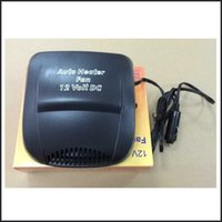 Wholesale 12V Car Vehicle Portable Ceramic Heater Heating Cooling Fan Defroster Demister W Black Electronic Heating Fan
