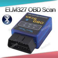 Wholesale Lanasoul WiFi Bluetooth USB V1 ELM327 OBD2 II Car Diagnostic Interface Scanner Cable ELM327 OBD Scan V1 hours dispatch