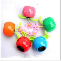 big apple gifts - Hot selling Lovely solar apple flower swing automotive supplies car accessories ornaments toy gift