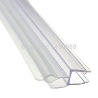 bath screen door - Shower Screen Seal Strip for mm Curved Flat Glass Bath Room Door to mm for Gap