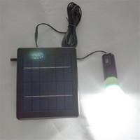 bright color led bulb - IP55 white color bulb light V W solar panel solar light kits a rechargerable battery power super bright led light SL A