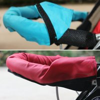 Wholesale Stroller Oxford Fabric Handle Bar Bumper Bar Cover Carriage Front Handle Cleaning Bumper Bar Cover Baby Pram Pushchair VT0164