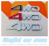 badge graphics - High quality D WD ABS logo Car Emblems badge Modified car stickers Graphics Decal car styling