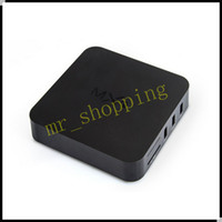 Wholesale Quad Core MXQ Smart TV Box Android Amlogic S805 Kodi Fully Loaded Media Player DHL