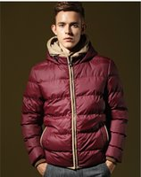Wholesale m xl Hot sales brand men s winter sports cotton padded clothes jacket Down jacket mens winter coat down parkas