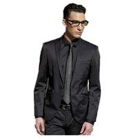 best dance classics - Exquisite Men s dancing party One Button Black Royal Peak Lapel wedding groom suits Best the groom Suits Tuxedo jacket pants