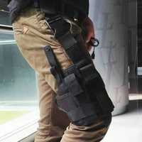 Wholesale Professional Tactical Bag Outdoor Hunting Tactical Puttee Thigh Leg Pistol Gun Holster Pouch Wrap around