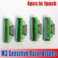 ru - With Retail Pack M3 Sensitive Razor Blades in pack with high Quality Blade Shaving razor blade RU Version