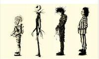 beetlejuice movie - Tim Burton movies Beetlejuice fan art Edward Scissorhands Canvas Prints Painting Pictures Decor For Living Room A
