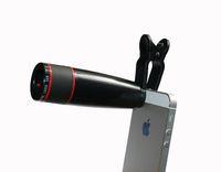 Wholesale Universal Clip X Zoom Optical Lens Mobile Phone Telescope Clip Lens for iPhone Samsung HTC Smart Phones