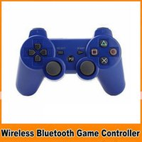 Wholesale Six axis Bluetooth Wireless Controller for PS3 PlayStation3 game controller gamepad joystick for Android video games DHL FREE OM CC1