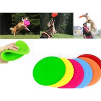Wholesale PC Dog Frisbee Flying Disc Tooth Resistant Outdoor Large Dog Training Fetch Toy