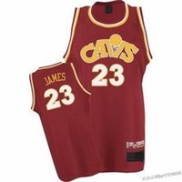 lebron james jersey - CAVS Lebron James Basketball Jersey Shirt Cavaliers Red Retro Best Mesh Sportwear Uniform T Shirts Vests Retail