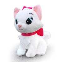 big kitty cats - 20m plush toy doll cute white kitty cat cartoon European and American