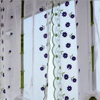 best blackout curtains - Best Pretty Flower Print Sheer Curtain Panel Window Balcony Tulle Room Divider Window