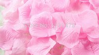 wedding rose petals cheap - Beautiful and cheap pink white and red artificial silk rose flower petals for wedding decoration and ceremonies