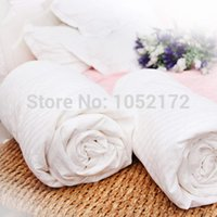 Wholesale kg Pure Mulberry Silk Quilt Filled Quilt Duvet and Comforters Handmade Four Season Cold Winter x220 Comforter Quilts