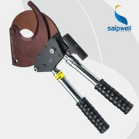 armoured cable cutters - Saipwell J95 Ratchet cable cutter for Cu Al and Armoured cable smaller than mm Wire Cable Cutting Tool