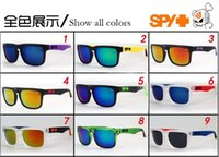 Wholesale Hot sell New Style SPY1 Brand Cycling Sports Outdoor Men Women Optic Sunglasses color JY043