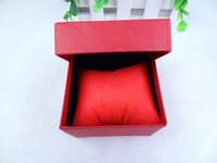 Wholesale 200pcs Elegant pure color watch box fashionable box case for watch