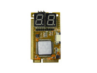 Wholesale 5 IN PCI E PCI LPC I2C ELPC diagnostic post tester card For Laptop Motherboard Guaranteed