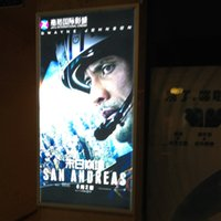 advertising lightbox - Movie Poster Light box Display Frame Cinema Lightbox Light Up Home Theater Sign