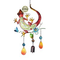 beautiful craft rooms - Lizard Design Living Room Metal Beautiful Hanging Wind Chimes Suncatcher Gift Decorative Pendant Home Garden Decoration Crafts