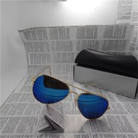 Wholesale Hot sales Polarized Brand Designer Fashion Sunglasses for Women and Men UV400 Vintage Sun glasses Retro Eyewear With box and cases