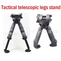 Wholesale NEW Rail telescopic tactical rotation CS game tactics telescopic rails hiking camping mountaineering feet stand