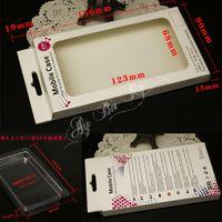 Wholesale Universal Plastic Paper Retail Packaging boxes For Samsung iphone Plus S S flip Phone case Size x9x1 cm