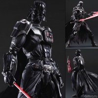 Wholesale Star Wars Action Figure Toys Playarts Kai Darth Vader Collection Model Brinquedos Star Wars Darth Vader Action Figure mm