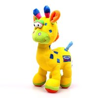 Wholesale 1Pcs cm Playgro Baby Toy Brinquedos Kwaiii Giraffe Stuffed Animals Toy Baby Months Plush Toys Baby Rattle Toys