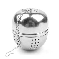 Wholesale NEW Tea Infuser Strainer Lock Tea Spice Diam cm Stainless Multifunction Ball