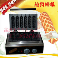Wholesale good quality with CE hot dog lolly waffle maker French hot dog lolly stick A3