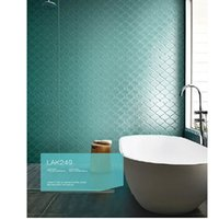 bathroom tiles colors - Lanterna on x12inch mesh glass mosaic tiles for Bathroom bedroom lobby TV background wall tiles colors are available