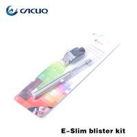 slim - Eluv Pen Style E Cig E Luv E Cig Kit mah E Smart Battery Mini CE4 Atomizer OR Mini H2 Atomizer Slim ELuv Electronic Cigarette Kit E Smart