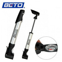 Wholesale New Arrival Bicycle Dual head Hand Pressure Cycling Bike Inflator Tire Pump with Big Gauge For BETO A5