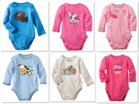 jumping beans baby clothing - Jumping Beans Baby Bodysuits Long Sleeve Newborn body suits Toddler Baby Clothes one pieces clothes B11