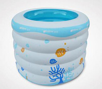 Wholesale Yingtai inflatable swimming pool five rings baby swimming pool baby bath pool child paddling pool