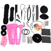 Wholesale Women Hairpins For Hair Clip Band Comb Hairpin Rubber Band Device Hair Styling Accessories Different Type Set Set