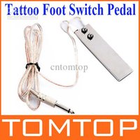 Wholesale Hot Sale m ft Mini Stainless Steel Foot Switch Pedal for Tattoo Machine Gun Power Supply H8907