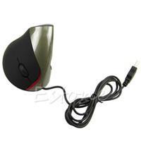 Wholesale Ergonomic Design USB Vertical Optical Mouse Wrist Healing For Computer PC Laptop
