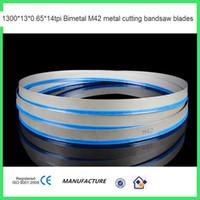 Wholesale 1300 tpi Bimetal M42 metal cutting bandsaw blades durable new