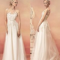 Cheap A-Line Grecian Wedding Dress Best Reference Images 2015 Spring Summer 2015 White Wedding Dresses