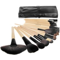 best professional makeup brands - 2015 best selling Professional Makeup Brush Set tools Make up Toiletry Kit Wool Brand Make Up Brush Set Case