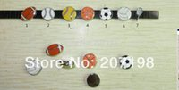 soccer ball lots - piece mm slider ball charms football basketball soccer baseball for DIY bracelet and jewelry you can pick freely