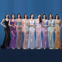 Wholesale 2016 Sexy Sheer Pageant Dresses Mermaid V Neck Backless Straps Floor Length Short Train Lace Tulle Car Models Dress