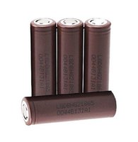 Wholesale Real LG HG2 Rechargeable Lithium Battery For Electronic Cigarette Mods mah a PK LG HE4 HE2 Samsung R